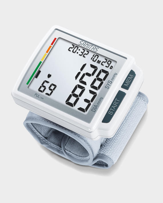 Sanitas SBC 41 Wrist blood Pressure Monitor in Qatar