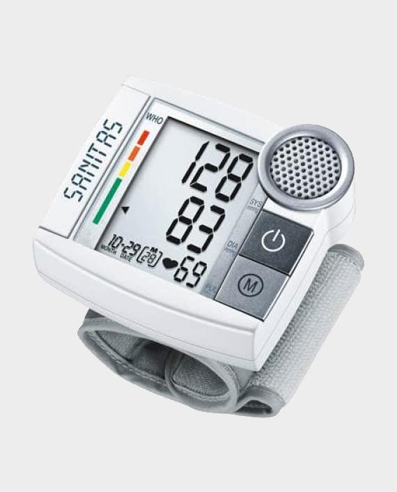 Sanitas SBC 55 Talking Wrist Blood Pressure Monitor in Qatar