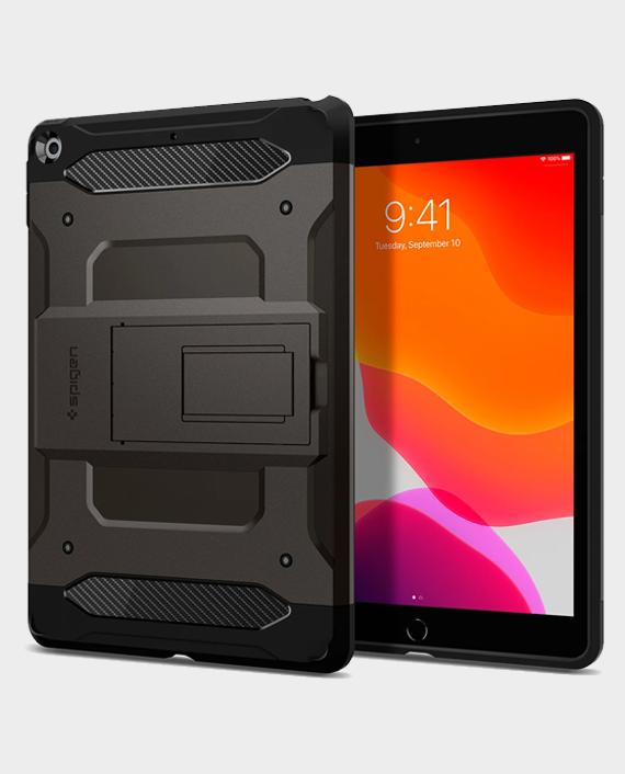 Spigen iPad 10.2 Tough Armor Tech Case Gunmetal in Qatar