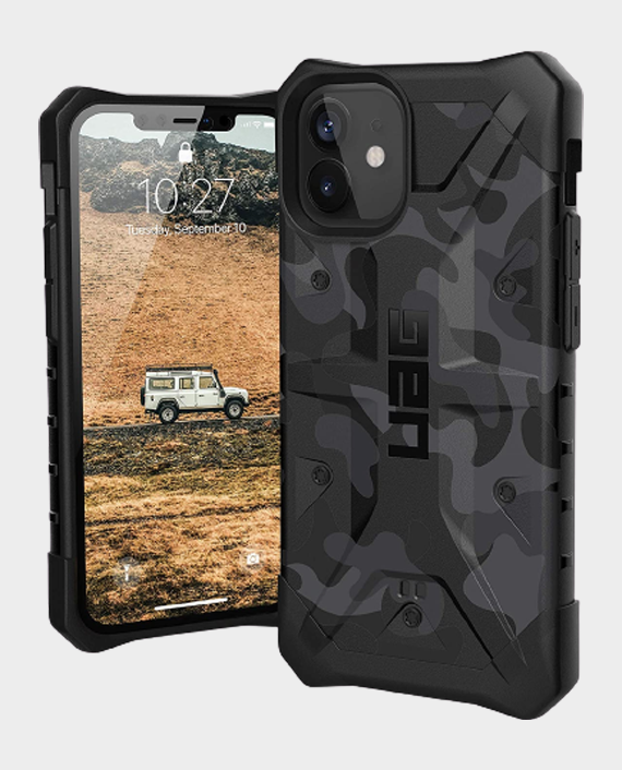 UAG iPhone 12 Mini Pathfinder Series Rugged Protection Case Midnight Camo in Qatar