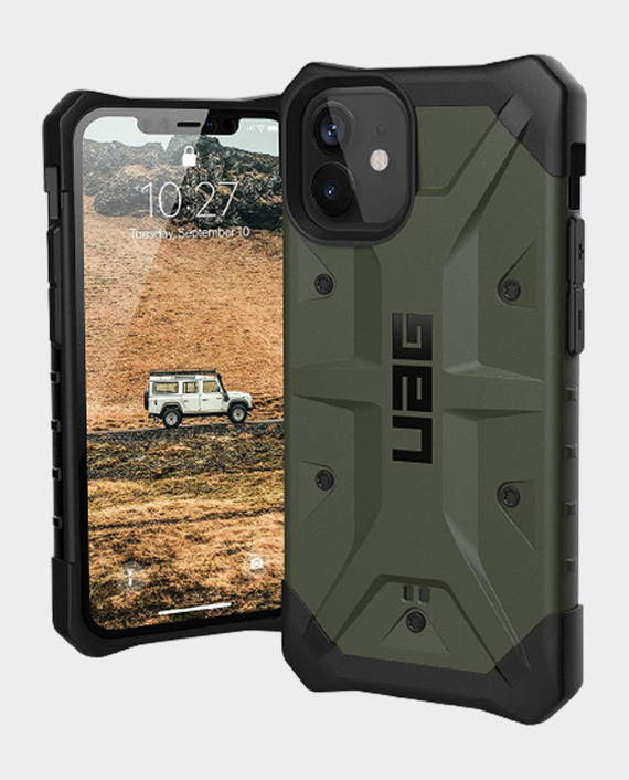UAG iPhone 12 Mini Pathfinder Series Rugged Protection Case Olive in Qatar