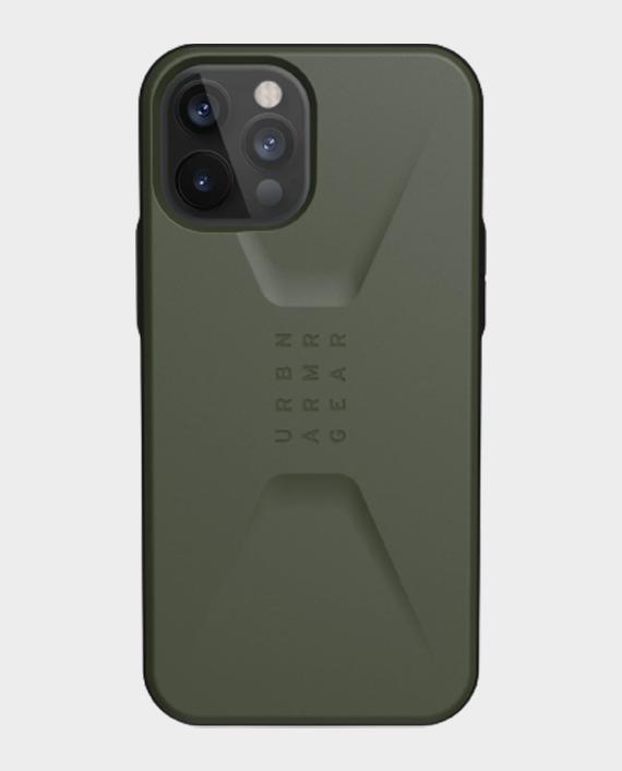 UAG iPhone 12 Pro Max Civilian Series Discrete Protection Case Olive in Qatar