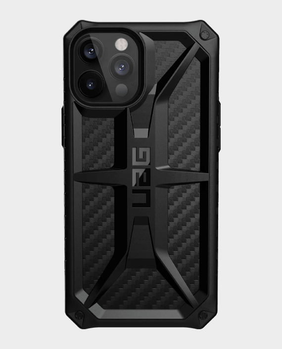 UAG iPhone 12 Pro Max Monarch Series Premium Protection Case Carbon Fiber in Qatar