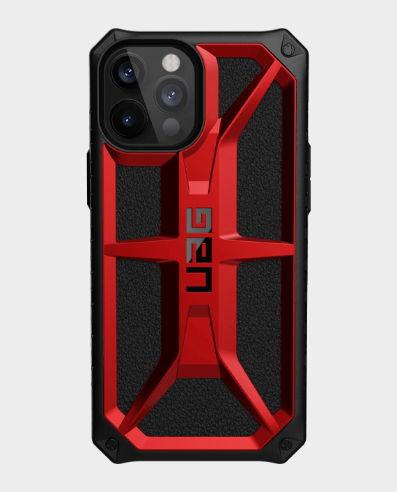 UAG iPhone 12 Pro Max Monarch Series Premium Protection Case Crimson in Qatar