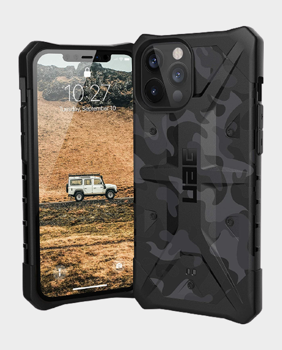 UAG iPhone 12 Pro Max Pathfinder Series Rugged Protection Case Midnight Camo in Qatar