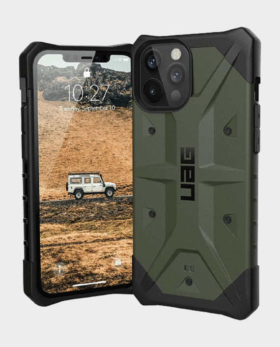 UAG iPhone 12 Pro Max Pathfinder Series Rugged Protection Case Olive in Qatar