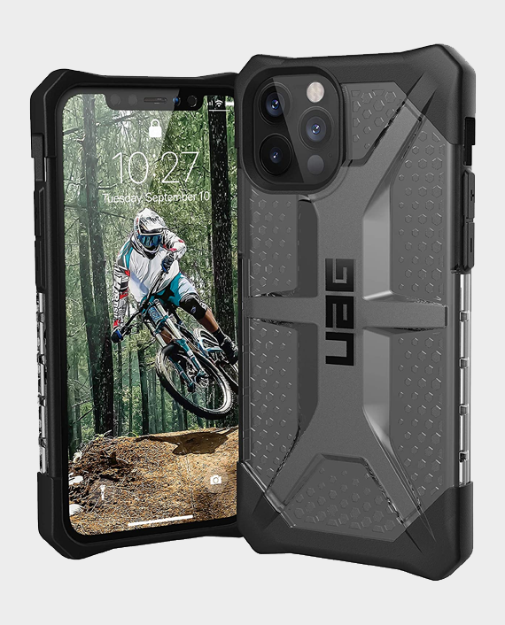 UAG iPhone 12 Pro Max Plasma Series Rugged Protection Case Ash in Qatar
