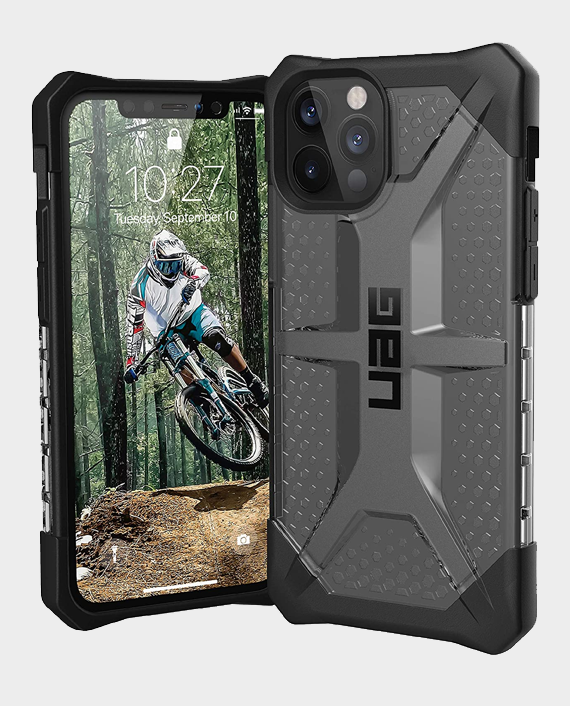 UAG iPhone 12 Pro Max Plasma Series Rugged Protection Case Ice in Qatar