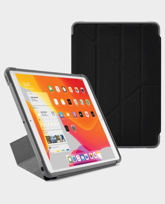 Pipetto iPad 10.2(2019) Origami Shield Black in Qatar