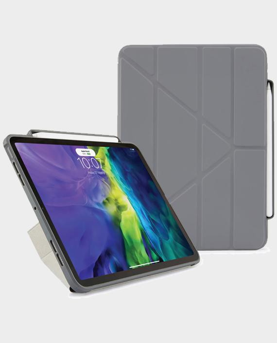 Pipetto iPad Air 10.9 4th Gen Origami Pencil Case Dark Grey in Qatar