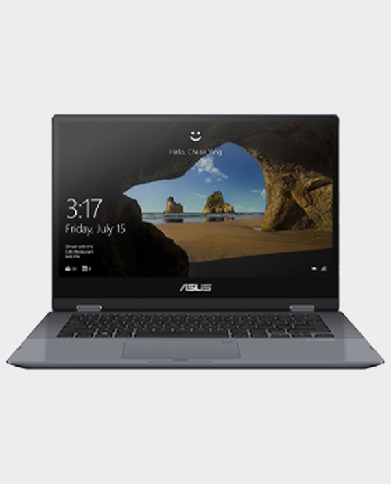 Asus VivoBook Flip TP412FA-EC390T / Core i5 / 8 GB Ram / 512GB SSD / Intel UHD Graphics / 14 Inch FHD / Windows 10 Home Grey in Qatar