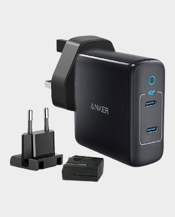Anker Power Port III 2-Port 60W Travel Adapter Black in Qatar