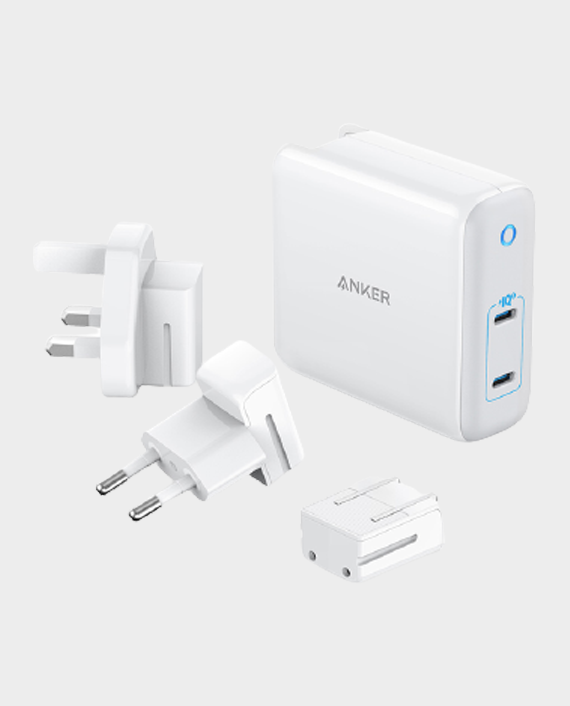 Anker Power Port III 2-Port 60W Travel Adapter in Qatar