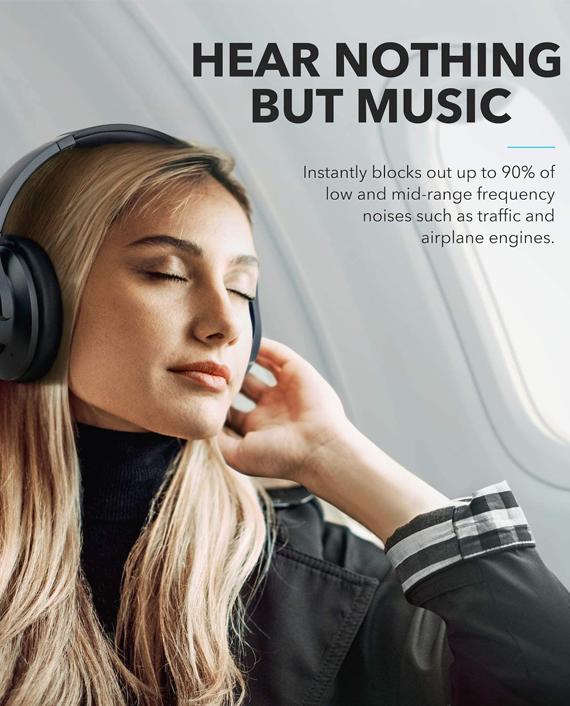 Anker Soundcore Life Q20 Wireless Headphones