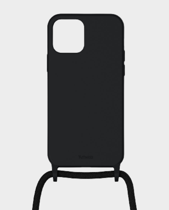 Artwizz Berlin iPhone 12/12 Pro HangOn Silicone Case Black in Qatar