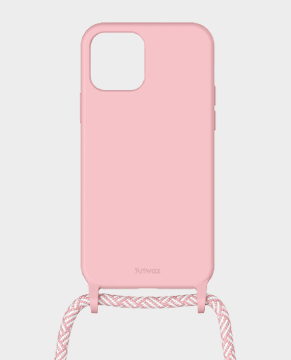 Artwizz Berlin iPhone 12/12 Pro HangOn Silicone Case Light Salsa in Qatar