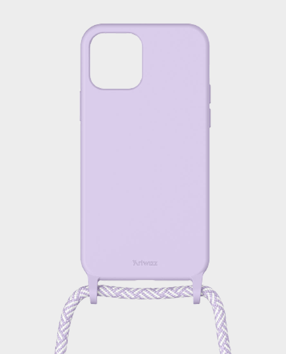 Artwizz Berlin iPhone 12/12 Pro HangOn Silicone Case Purple Sky in Qatar