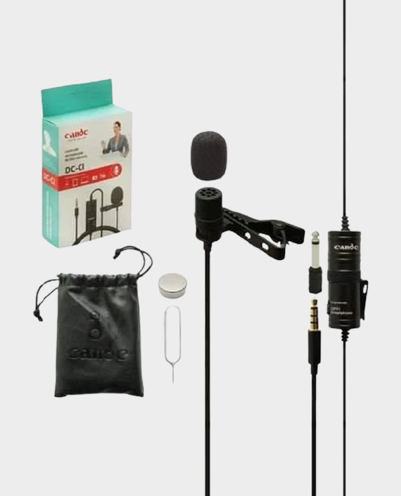 Candc DC-C1 Lavalier Microphone Micro in Qatar