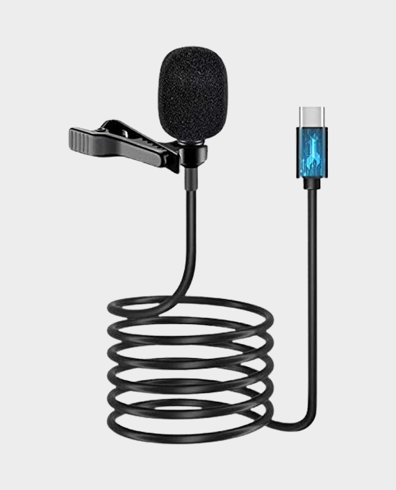 Candc DC-C4 Clip on Usb Type-C Lapel Microphone in Qatar