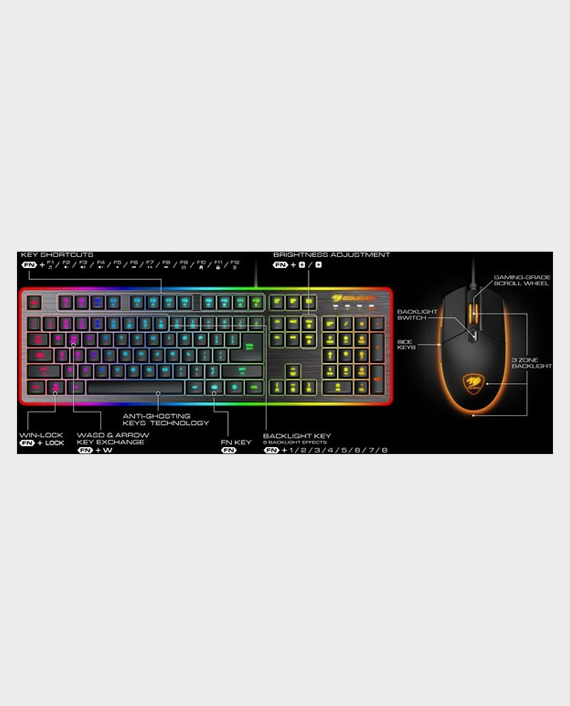 Cougar Deathfire EX Gaming Keyboard & Mouse Combo