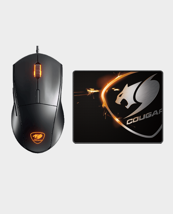 Cougar Minos XC Mice + Mousepad Combo in Qatar