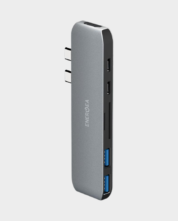 Energea Aluhub Mac Pro 7 in 1 Aluminium 3.1 USB C Hub in Qatar