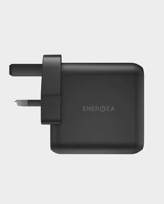 Energea AmpCharge Gan PD65 Dual USB-C + USB-A PD-PPS-QC3.0 Wall Charger (UK)