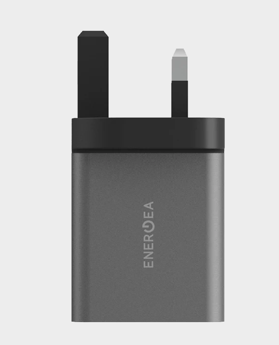 Energea AmpCharge PD20+, PD USB-C + QC USB-A Port Wall Charger, 20W (UK)