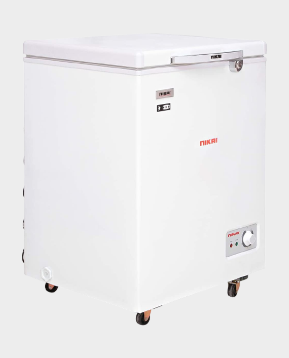 Nikai FRZ NCF150Q Chest Freezer White
