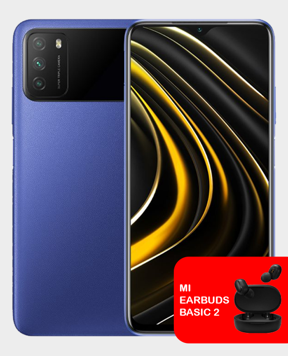 Xiaomi Poco M3 4GB 64GB Cool Blue in Qatar