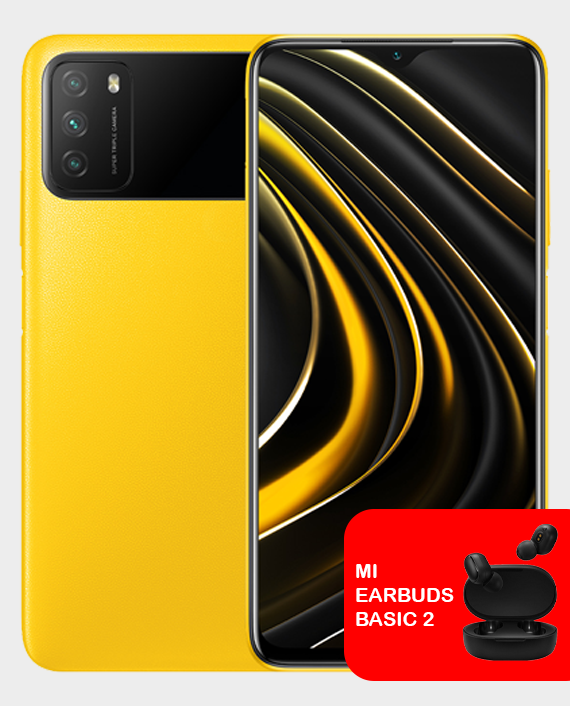 Xiaomi Poco M3 4GB 64GB Yellow in Qatar