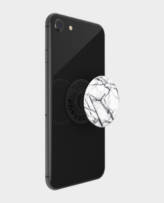 Popsockets PopGrip Dove White Marble in Qatar