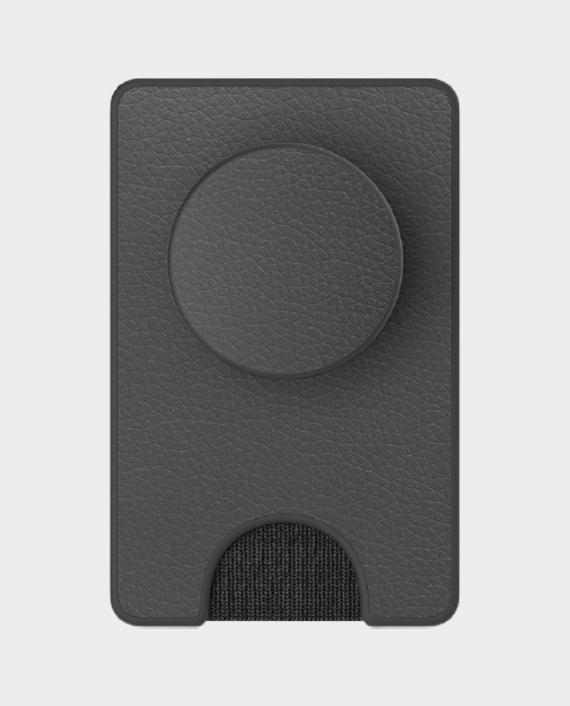 Popsockets PopWallet+ Pebbled Vegan Leather Black