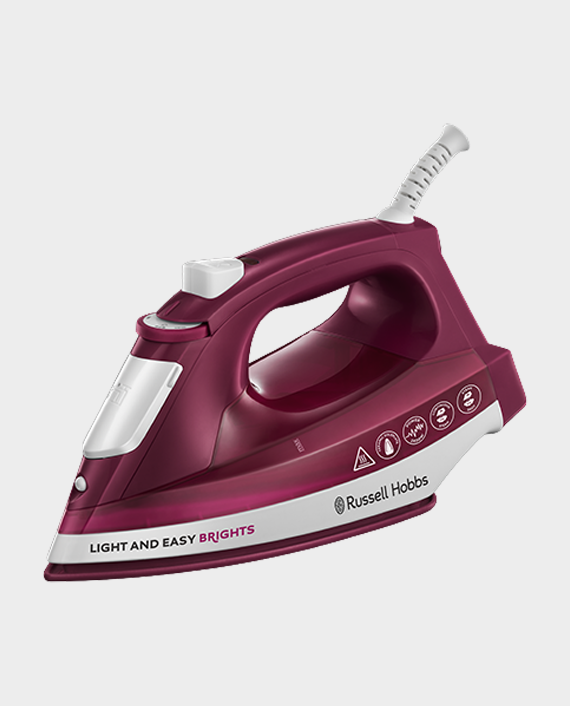 Russell Hobbs Light & Easy Brights Steam Iron 24820/RH in Qatar