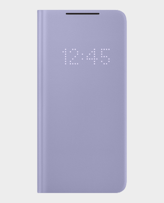 Samsung Galaxy S21+ Smart LED View Cover Violet in Qatar