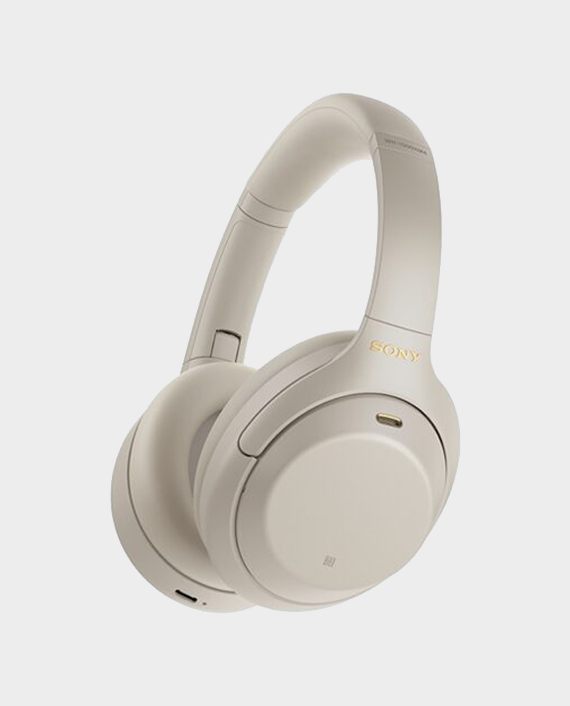 Sony Wireless Noise Canceling Stereo Headset Silver in Qatar