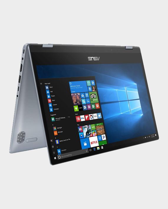 Asus VivoBook Flip 14 / TP412FA-EC598T / Intel Core i3-10110U / 4GB RAM / 128 SSD / Intel UHD Graphics / 14-inch Touch Screen / Windows 10 Galaxy Blue