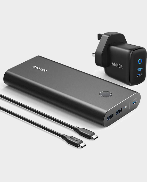 Anker Power Core + 26800 PD 45W With Powerport III Mini Speed Combo in Qatar