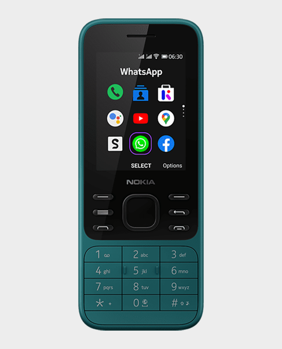 Nokia 6300 DS Cyan Green in Qatar