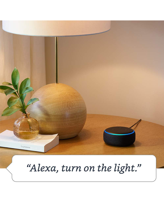 Amazon Echo Dot 3rd Generation Heather Gray