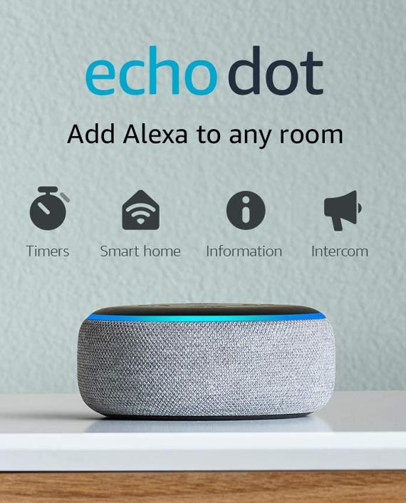 Amazon Echo Dot 3rd Generation Sandstone