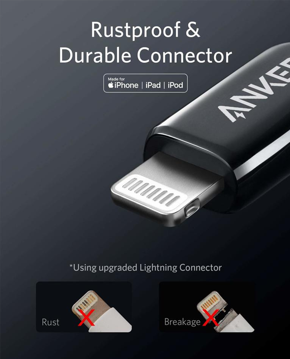 Anker PowerLine+ III USB-C to Lightning Connector 3ft 0.9m