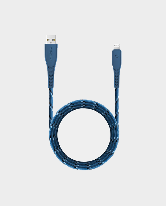 Energea NyloFlex 3A USB-A to Lightning Fast Charging Cable 1.5m in Qatar