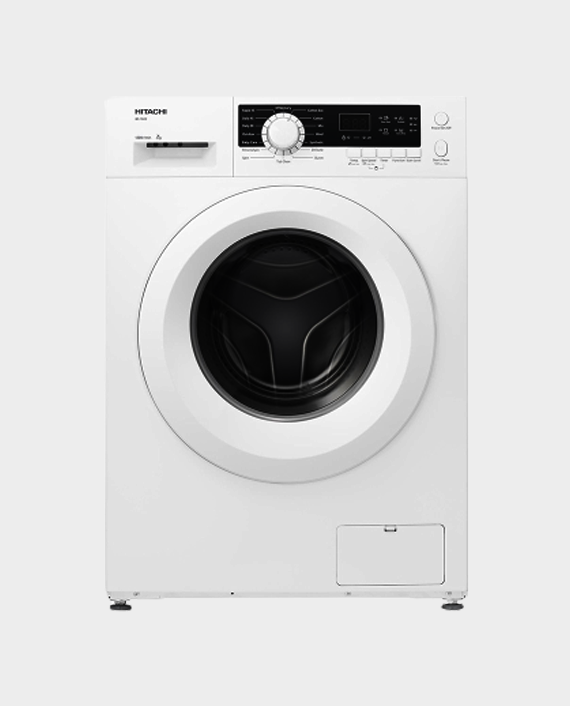 Hitachi BD80CE3CGX WH 8 Kg Front Load Washing Machine in Qatar