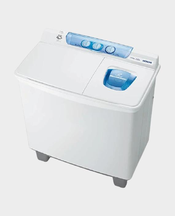 Hitachi PS1100KJ3GXWH 11 Kg Washing Machine Twin Tub in Qatar