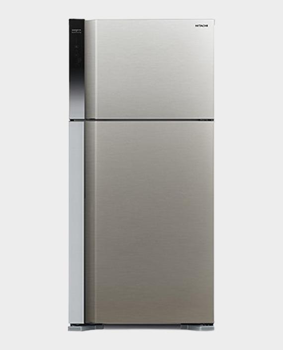 Hitachi RV650PK7KBSL Refrigerator 650L in Qatar