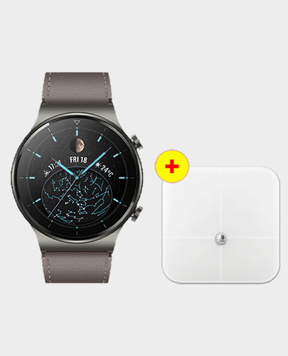 Huawei Watch GT 2 Pro Classic - Nebula Gray + Huawei Smart Scale