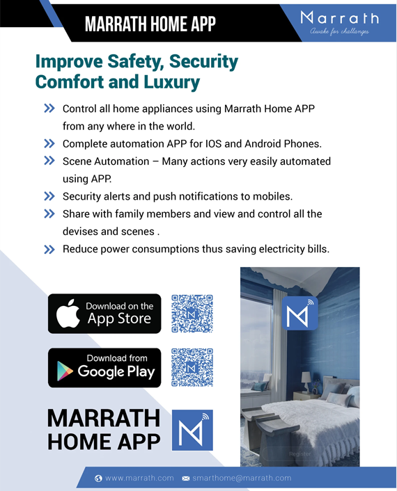 Marrath Smart WiFi HD Weatherproof Indoor - Outdoor Plug and Play CCTV Camera with Motion Detection