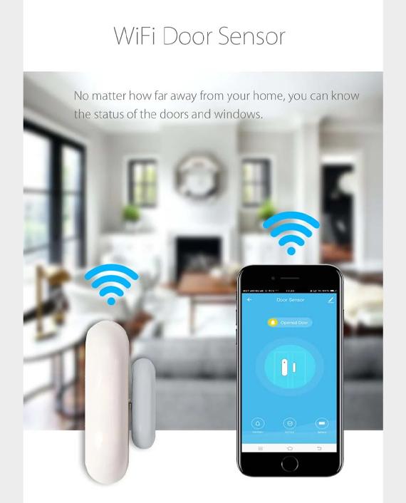 Marrath Smart WiFi Home Door Sensor