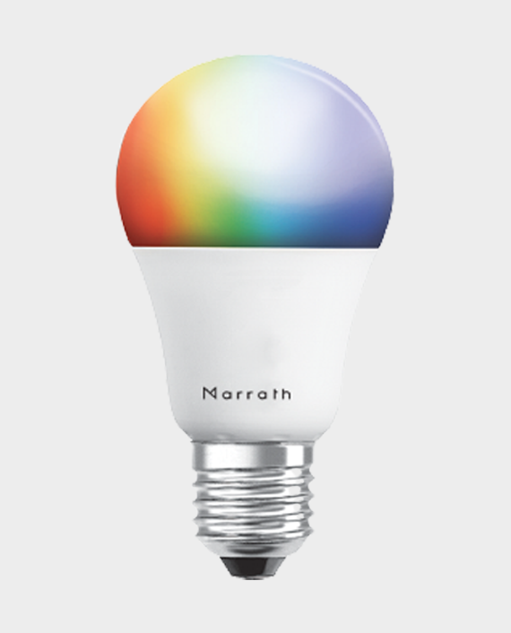 Marrath Smart WiFi Multi Color RGBW Bulb in Qatar
